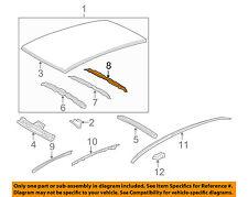 63144-52080 Toyota Reinforcement, roof panel, no.4 6314452080, New Genuine OEM P