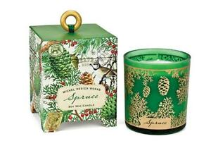 Michel Design Works Spruce Pine Cone Scent Soy Wax Candle in Keepsake Box New