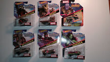 Hot Wheels Marvel 5 Character Car Guardians Original Set + Infinity War Thanos