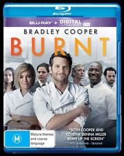 *New & Sealed*  Burnt (Blu-ray + Ultraviolet UV Digital, 2016) Bradley Cooper