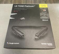 New listing Lg Tone Platinum+ Black Neckband Headset Hbs-1125