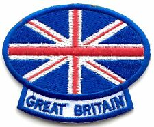 Great Britain Union Jack Embroidered Patch - Sew on or Iron on