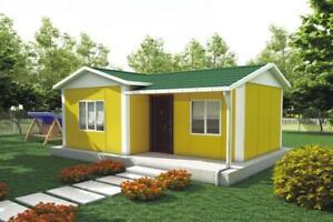 Modular Building, Sectional House, Prefab, Kit Home, Ideal Self Build - 40 sqm
