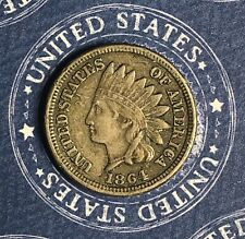 1864 INDIAN HEAD COPPER CENT COLLECTOR COIN FOR YOUR COLLECTION.