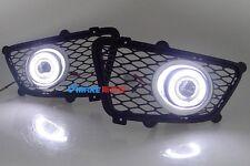 2x LED Daytime Fog Lights Projector angel eye kit For KIA Sportage 2008-2012