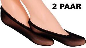 2 Pair Ballerina Fine Mikro-Netz Net Footies Mini Crew Socks Airy Socks Eu