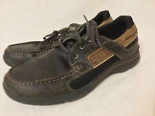 a2bbb7a9b6ea4 Rockport XCS Black Leather boat shoe Men's Size 8M