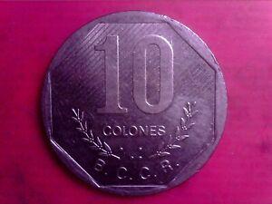 COSTA RICA   10 COLONES    1992   BIG COIN    JUN16