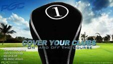 New #1 Wholesale Black Neoprene Driver Drivers Golf Club Headcover Head Cover