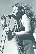 """Janis Joplin LIVE POSTER 24""""x36"""" MAXI TAGLIA"""
