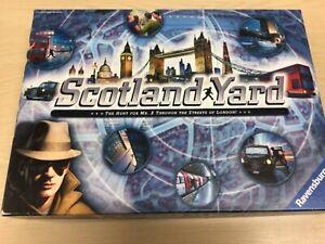 SCOTLAND YARD BY RAVENSBURGER BRILLIANT RARE BOARD GAME COMPLETE VGC