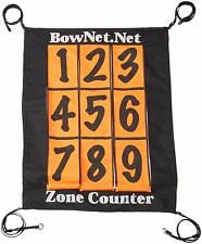 Bownet Zone Counter Target Attachment for Bownet Training Nets