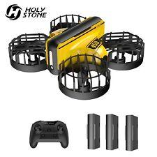 Holy Stone HS450 Mini Drohne RC Stunt Quadrocopter Drone mit 3 Akkus für Kinder