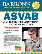 Barron's ASVAB, 11th Edition by Terry L. Duran (2015, Paperback, Revised)