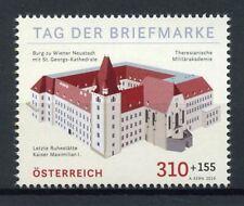 Austria Castles Stamps 2019 MNH Day of Stamp Wiener Neustadt Castle 1v Set