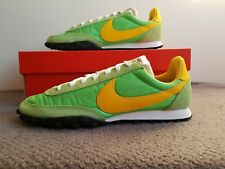 Nike Waffle Racer-UK Size 8-CN8115 300-Verde/Amarillo-Amanecer/viento en cola