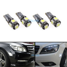 4Pcs White 168 LED 194 CANBUS For Mercedes W204 Turn Side Marker Light Bulb