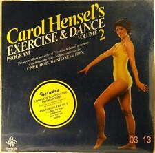 CAROL HENSEN // Exercise and Dance Program 2 / ORIG 1981 US LP SEALED / Mint-!