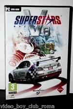 SUPER STARS RACING V8 GIOCO USATO OTTIMO STATO PC DVD EDIZIONE ITLIANA PAL 31995