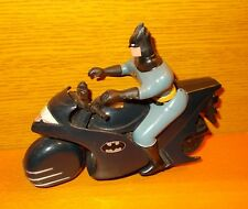 Batcycle Batman auf Motorrad 1992 DC Comics The Animated Series Kenner