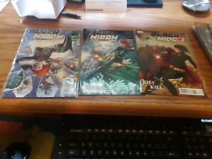 Marvel Comics Black Widow and the Marvel Girls 1, 2 2009 and Black Widow 2010 8
