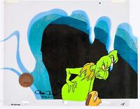 Grinch Stole Christmas Animation Cel Original Production Max Signed Chuck Jones