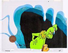 Grinch Stole Christmas Animation Cel Original Production Max Signed Chuck Jones