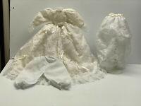Vintage Doll Cloth - Wedding Doll Dress Victorian Style - French  Dress Fashion