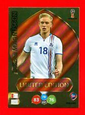 WC RUSSIA 2018 -Panini Adrenalyn-Card Limited Edition Brasil- MAGNUSSON -ICELAND