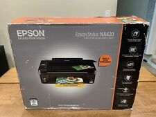 Epson Stylus NX420 Print Copy Scan Photo Wi-Fi All-in-One Printer New In Box
