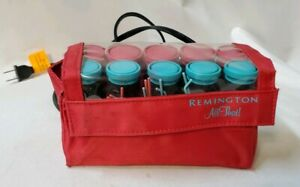 Remington All That Traveling Pack Of 10 Electric Hot Rollers & Clips