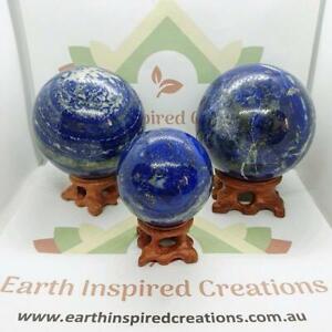 Lapis Lazuli Stone Spheres