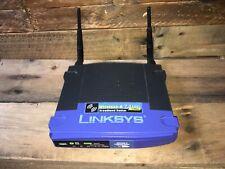 Linksys Wireless-G WRT54G Broadband WiFi Router 2.4 GHz - w/ power cord