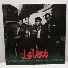 """LeVert – Casanova 12"""" Vinyl Swingbeat Funk Soul Dance Pop Music 1987"""