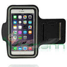 Armband fascia braccio Sport p iPhone 6/6S Plus NERA custodia fitness touch BND7