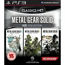 Metal Gear Solid HD Collection Jeu PS3