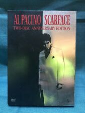 Scarface (DVD, 2003, Widescreen 2-Disc Anniversary Edition) with SLIPCOVER