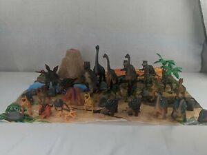 Toys R Us Animal Planet Big Tub Dinosaurs Lot Toys Figures Set 39 Pieces