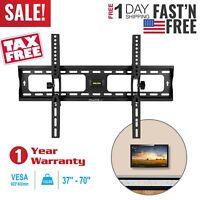 """LED LCD Full Motion Flat TV Wall Mount Bracket Swivel Tilt +/-15° For 37""""-70"""" US"""