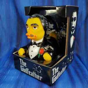 The Godfeather Rubber Duck CelebriDuck NIB The Godfather fans Marlon Brando