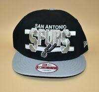 San Antonio Spurs New Era 9FIFTY NBA Hardwood Classics Split Bar Snapback Cap