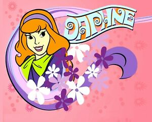 """Psychedelic """"Daphne"""" - Scooby-Doo 8x10 Personalized by Voice Grey Delisle ~~"""
