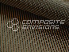 "Bronze Mirage™ Carbon Fiber Cloth Fabric 2x2 Twill 50"" 3k 290gsm 8.6oz HD"