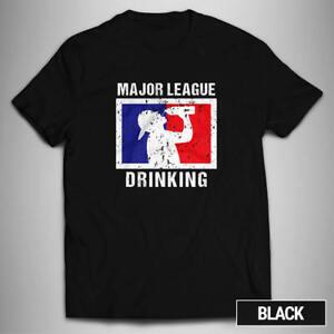Major Drinking League T-Shirt Bier Cap Party Feiern Flasche 12 Farben fun TD227