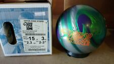 New Brunswick Vapor Zone Hybrid Bowling Ball | 15# 12012