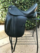 Verago Elite Dressage Saddle by Trilogy 18 seat / W tree New!