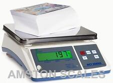 DIGITAL COUNTING PARTS COIN SCALE 6.6 x .0002 LB 3 KG x 0.1 G INVENTORY PAPER