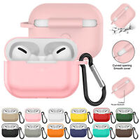 Case For Apple AirPods Pro 2019 Wireless Charging Silicone Protective Cover Skin