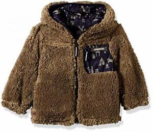 London Fog Boys Reversible Fleece to Poly Jacket Size 2T 3T 4T 4 5/6 7