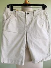 Columbia Shorts Women's Light Khaki Basic Stretch Cotton 4 Pockets Size 6